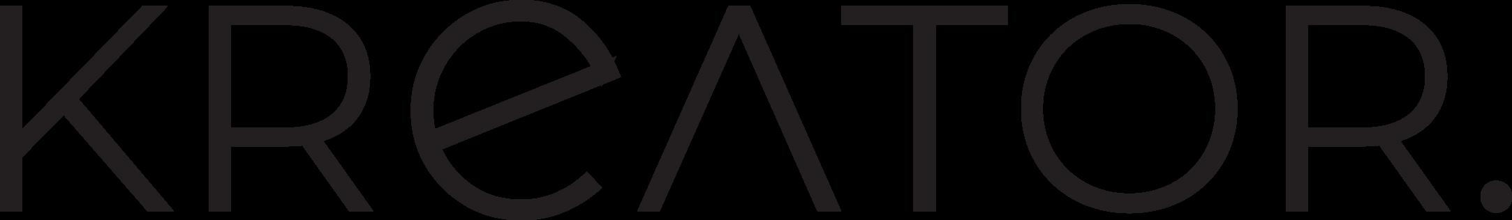 ekreator.hr logo crni